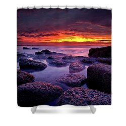 Inspiration Shower Curtain by Jorge Maia
