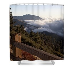 Shower Curtain featuring the photograph Inspiration Point by Ivete Basso Photography