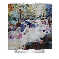 Inspiration Point Shower Curtain