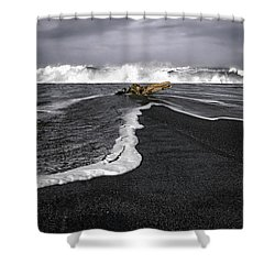 Inspirational Liquid Shower Curtain