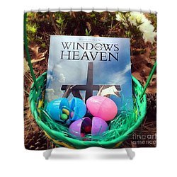lnspirational Book Windows From Heaven Shower Curtain