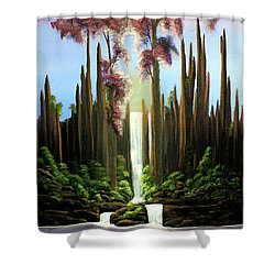 Inspireation Falls Shower Curtain