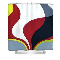 Inspired By Mid Century Modern Shower Curtain by GG Burns
