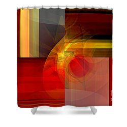 Inspriration  Shower Curtain by Thibault Toussaint