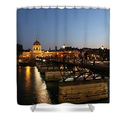 Shower Curtain featuring the photograph Institute Of France by Andrew Fare