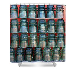 Insulators Shower Curtain
