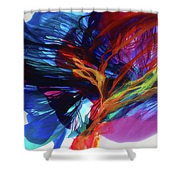 Integrate The Leaders Shower Curtain