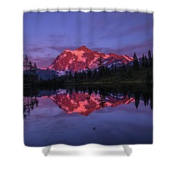 Intense Reflection Shower Curtain