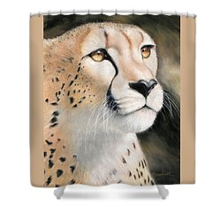 Intensity - Cheetah Shower Curtain