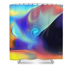 Intensity Vs Energy Shower Curtain
