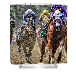 Intensity#2 Shower Curtain