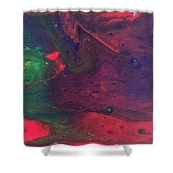 Intergalactic  Shower Curtain