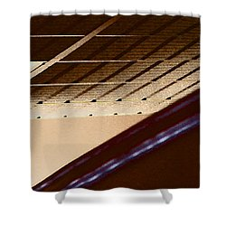 Interior - The Back Ceiling Shower Curtain by Lenore Senior
