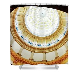 Shower Curtain featuring the photograph Interior Denver Capitol by Marilyn Hunt