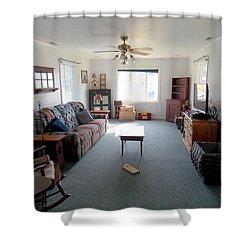 Interior Living Room Shower Curtain