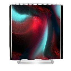 Interior Of Desire In Development Shower Curtain
