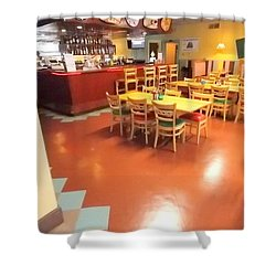 Interior Restaurant Shower Curtain