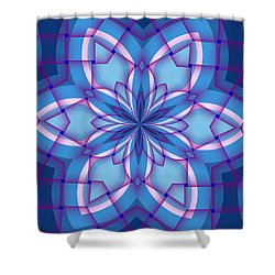Interlaced Shower Curtain