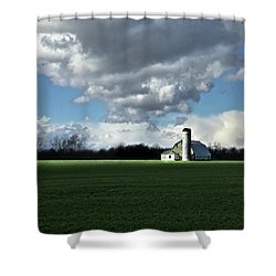 Shower Curtain featuring the photograph Interlude by Robert Geary
