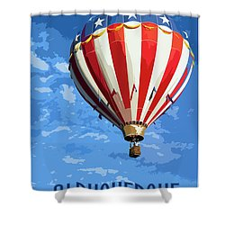 International Balloon Fiesta Shower Curtain