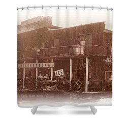 International Cafe Shower Curtain
