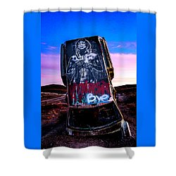 International Car Forest Of The Last Church 4 Shower Curtain