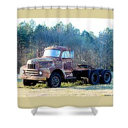 International Harvester R200 Series Truck Shower Curtain