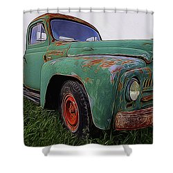 International Hauler Shower Curtain