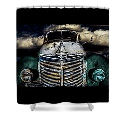 Shower Curtain featuring the photograph International Truck 6 by Michael Arend