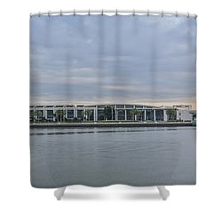 Interntational Trade And Convention Center Shower Curtain