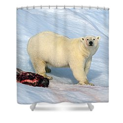 Interruption Shower Curtain