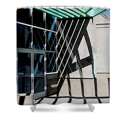 Intersections Shower Curtain by David S Reynolds