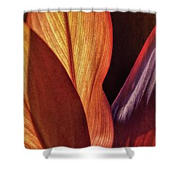 Interweaving Leaves I Shower Curtain
