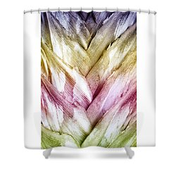 Interwoven Hues Shower Curtain by Holly Kempe