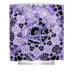 Shower Curtain featuring the digital art Interwoven by Ron Bissett