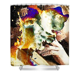 Intimate Conversation Shower Curtain