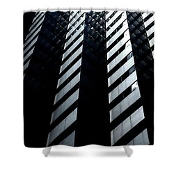 Shower Curtain featuring the photograph Into Light by Eric Christopher Jackson