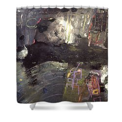 Into The Caves Shower Curtain