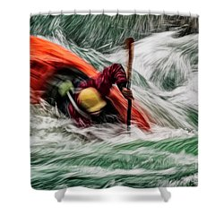 Into The Drink Shower Curtain