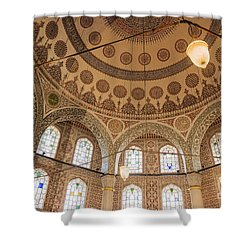 Shower Curtain featuring the photograph Into The Hagia Sophia Mausoleum by Yuri Santin