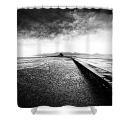 Into The Landscape Shower Curtain