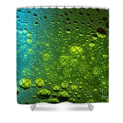 Into The Planets Shower Curtain