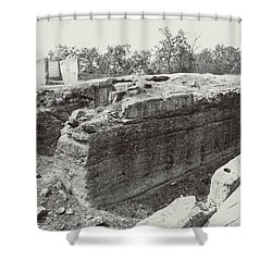 Into The Ruins 5 Shower Curtain