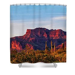 Shower Curtain featuring the photograph Into The West by Rick Furmanek