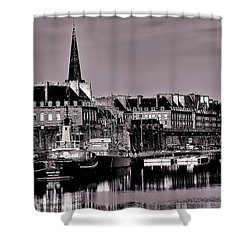 Intra Muros At Night Shower Curtain