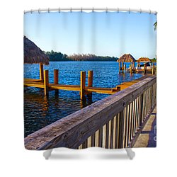 Intracoastal Series 12 Shower Curtain