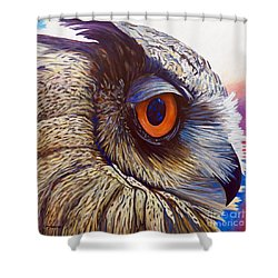 Introspection Shower Curtain
