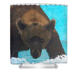 Interuption Shower Curtain