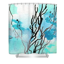 Intuitive Abstract Modern Art 20162 Shower Curtain