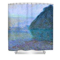 Inv Blend 21 Monet Shower Curtain